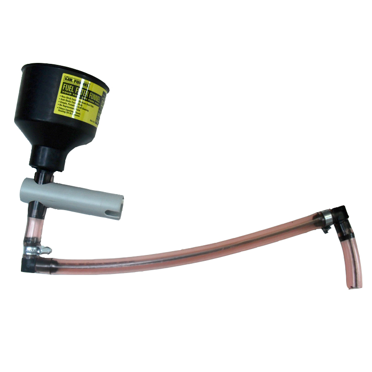 Mr Funnel, Holder & Hose - Filters Fuel/Sep Water Image