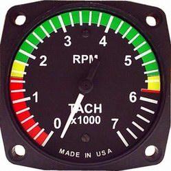 Rotax Tachometer Image